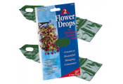BLOOMS - Flower Drops Hanging Basket Bags Pack of 2 - Green