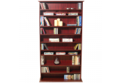 HARROGATE - 760 CD / 318 DVD / Blu-ray Media Storage Shelves - Mahogany