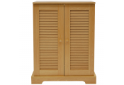 MAGELLAN - 315 CD / 204 DVD / Blu-ray / Video Media Storage Cupboard - Beech