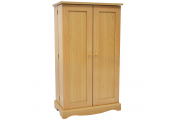RICHMOND - Storage Cupboard - 495 CD / 210 DVD / Blu-ray / Video Media - Beech