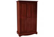 RICHMOND - Storage Cupboard - 495 CD / 210 DVD /BLU-RAY/ Media - Mahogany