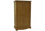 RICHMOND - 495 CD / 200 DVD / Blu-ray / Video Media Storage Cupboard - Oak