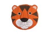 TIGER - Cartoon Tiger Head Cosy Travel Cushion / Childrens Pillow