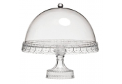 CAKE - Clear Acrylic Traditional Cake Stand with Dome