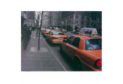 NEW YORK -  Street Scene 40 x 30 cm Canvas Art Print - Yellow Taxis