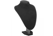 SHOW - Necklace Display / Storage Dummy Bust / Dressing Table - Black