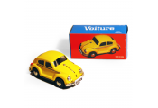 CAR - Retro Tin Volkswagen Collectable - Yellow