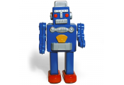 ROBOT WALKING  - Retro Tin Collectable Ornament