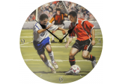 SCORE - Football / Soccer Theme Decorative Boys Analogue Wall Clock