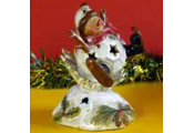 SNOWMAN - Decorative LED Christmas Ornament / Light