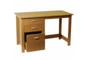 MONTROSE - Home Office Storage Desk / Workstation - Oak