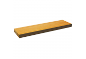 CHICAGO - Wood Effect 70cm Floating Wall Shelf - Beech