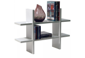 GEO - Wall Mounted Floating Geometric Storage / Display Shelf - White
