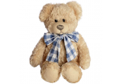 ALFIE - Cuddle Me Boy Teddy Bear - Beige / Blue