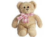 COCO - Cuddle Me Girl Teddy Bear - Beige / Pink