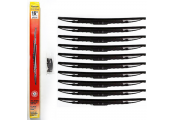 STADIUM - Universal Fit Spoiler Car / Van Wiper Blades 16 inch - 10 PACK