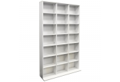 PIGEON HOLE - 588 CD / 378 DVD Blu-ray Media Storage Unit - White