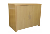 HIDEAWAY - Sideboard Office Computer Storage Desk - Oak