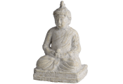 BUDDHA - Zen Decorative Ornament - Aged Cream