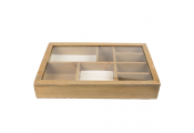 RETRO CHIC -  Jewellery Box / Storage / Display - Brown / Cream