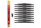 STADIUM - Universal Fit Spoiler Car / Van Wiper Blades 18 inch - 10 PACK