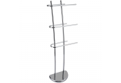 SCANT - Metal 3 Rung Towel Rail / Drying Rack - Silver