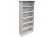 CHAK -  222 CD or 104 DVD Blu-ray Media Storage Shelf Unit - White