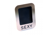SEXY - Stainless Steel Single Photo / Picture Frame - Silver