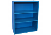 BRIGHT - 3ft High 3 Tier Childrens Storage Shelves - Blue