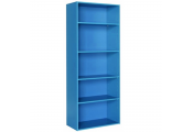 BRIGHT - 5.5ft High 5 Tier Childrens Storage Shelves - Blue