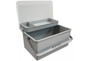 Large Hobby Craft Fishing Multipurpose Storage Box with Handle - Grey