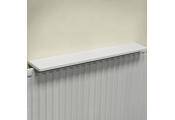Chunky Gloss Over Radiator Shelf 90cm / 3ft  - White