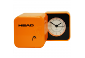 HEAD - Folding Travel Alarm Clock with Humidity and Temperature Gauges