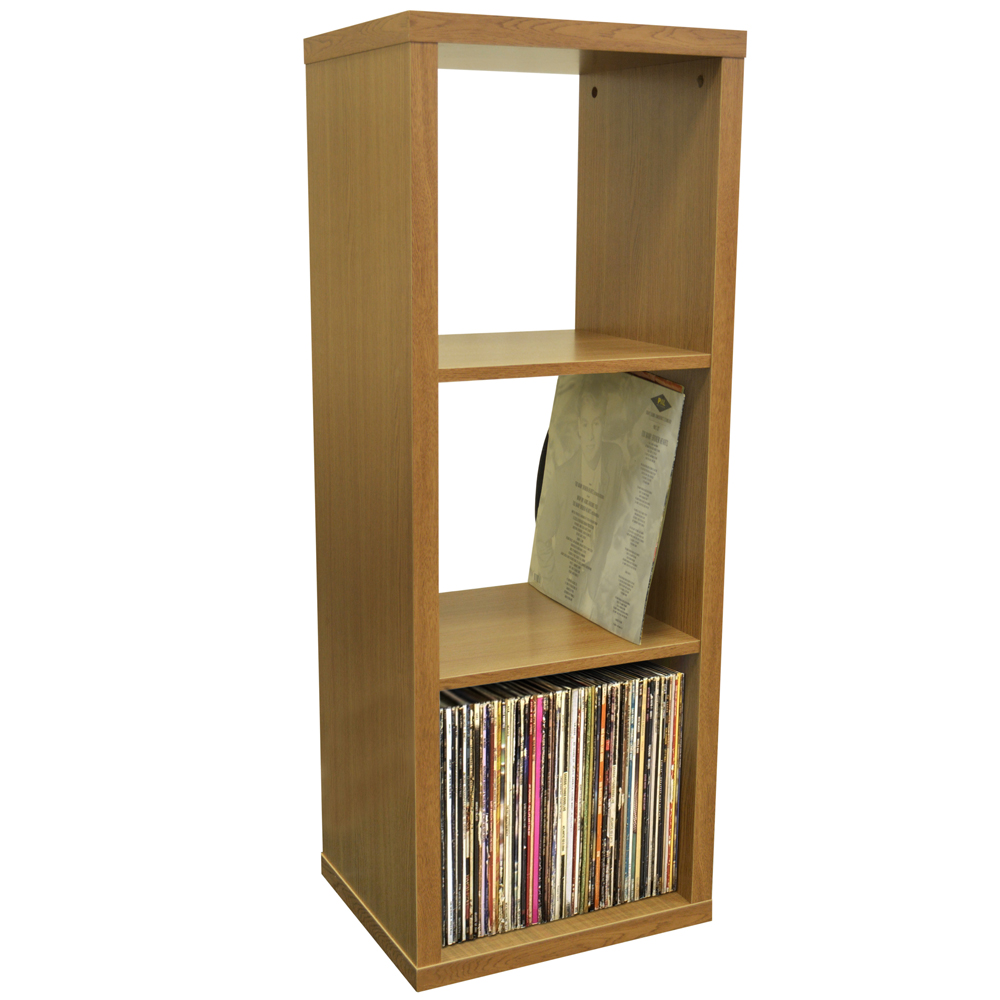 Cube 3 Cubby Square Display Shelves Vinyl Lp Record