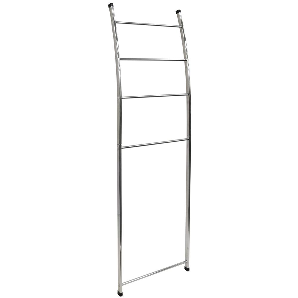 Ladder Metal Wall Mounted Leaning 4 Rung Towel Rail