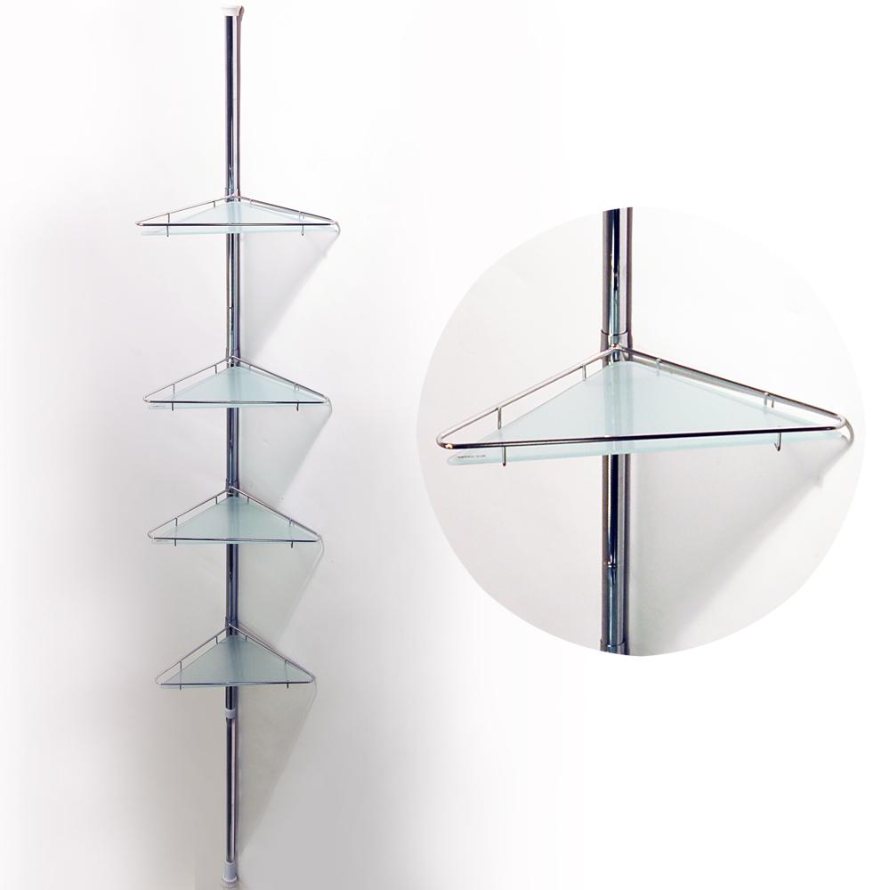 Tier Glass Shelves For Bathroom