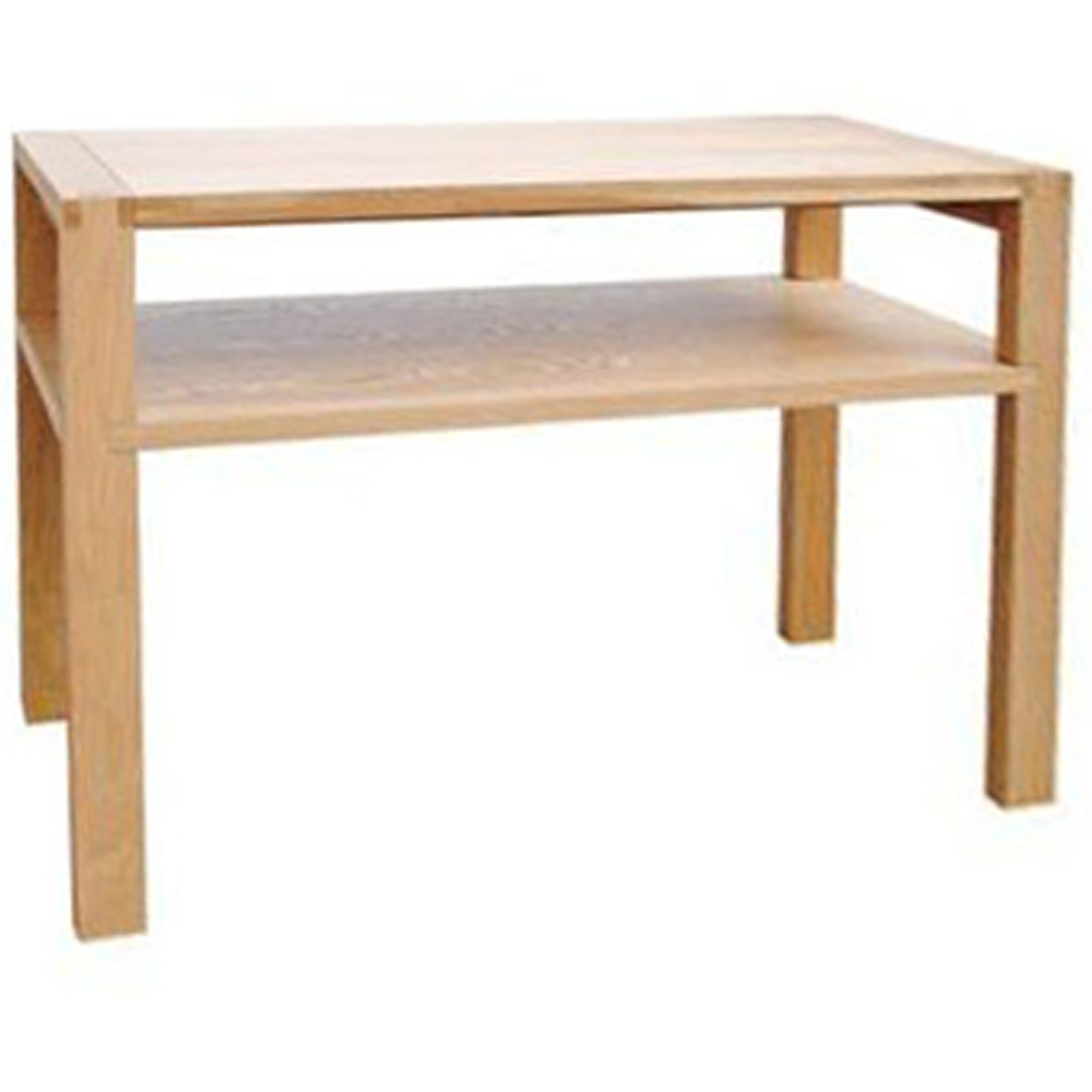 Solid Wood Console Tables With Storage ~ Cumbria solid wood sofa console hallway table oak