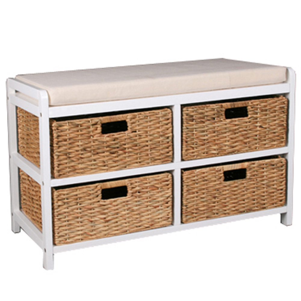 Storage benches with baskets 28 images black storage bench with baskets amish storage bench Bench with baskets