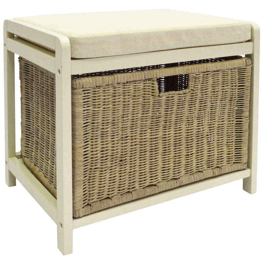 wicklow laundry hamper storage stool buttermilk cream watson