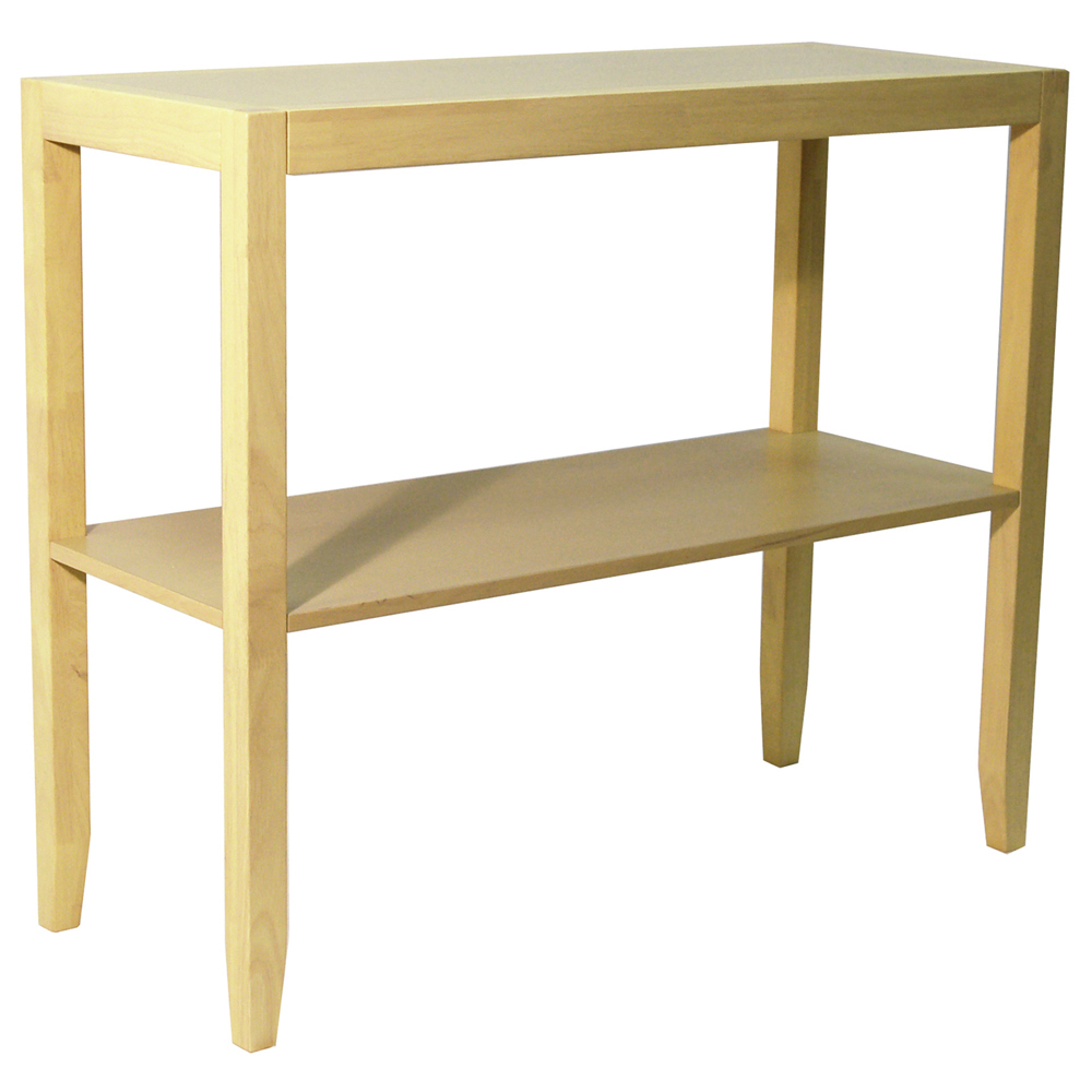 Solid Wood Console Tables With Storage ~ Anywhere solid wood console side table natural