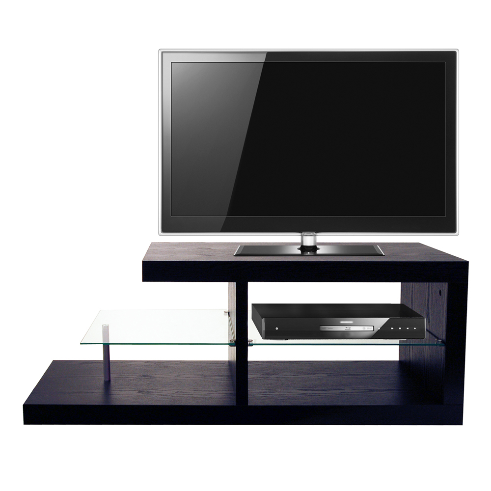 Halo Chunky Tv Stand Entertainment Unit Coffee Table Black Watson 39 S On The Web