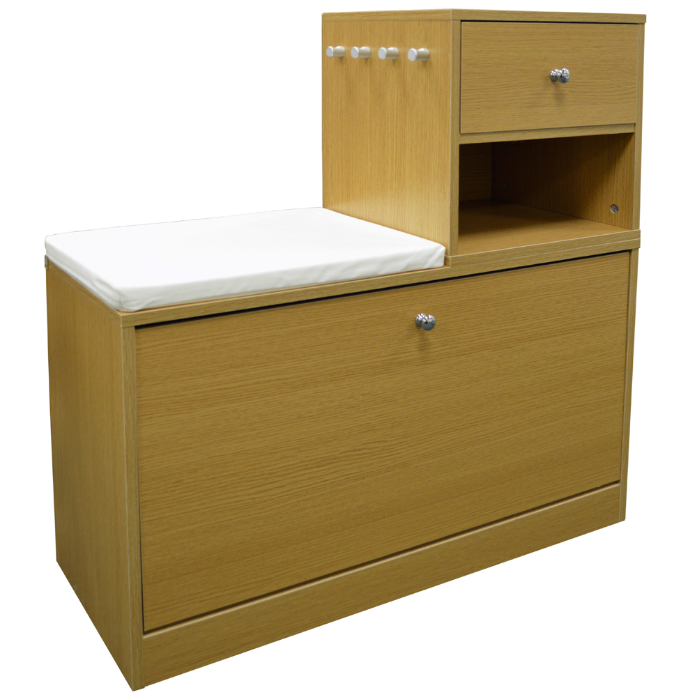 buddy telephone hall table with shoe storage bench. Black Bedroom Furniture Sets. Home Design Ideas