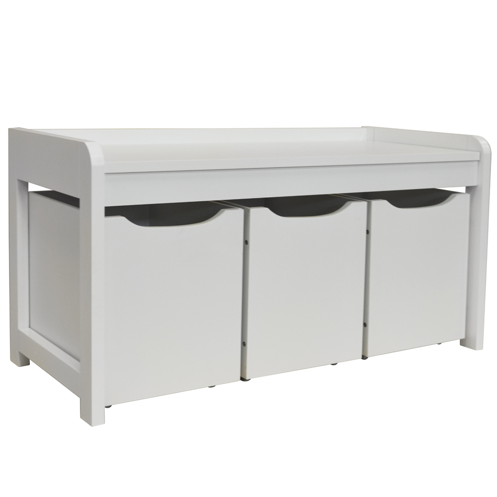 Newton Hallway Shoe Toy Bedroom Storage Bench With