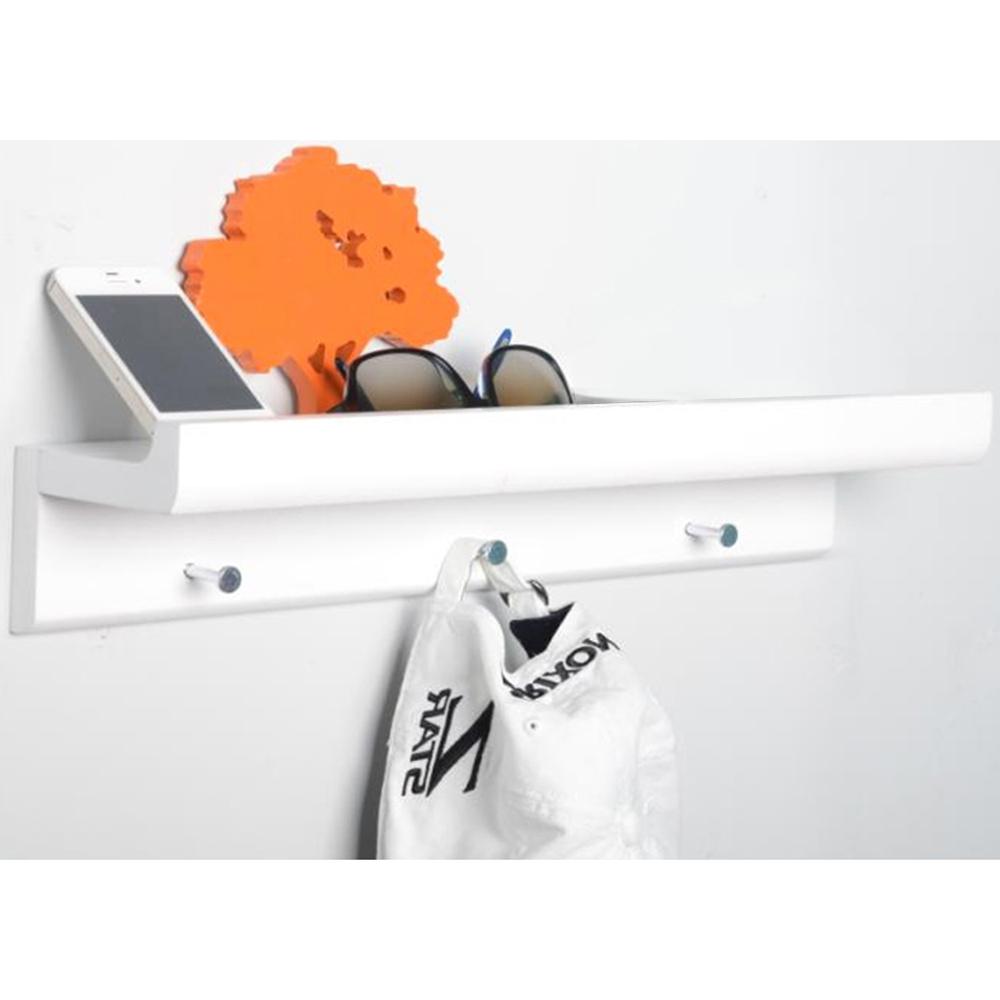 Oakley Wall Mounted 45cm Organiser Floating Shelf With 3