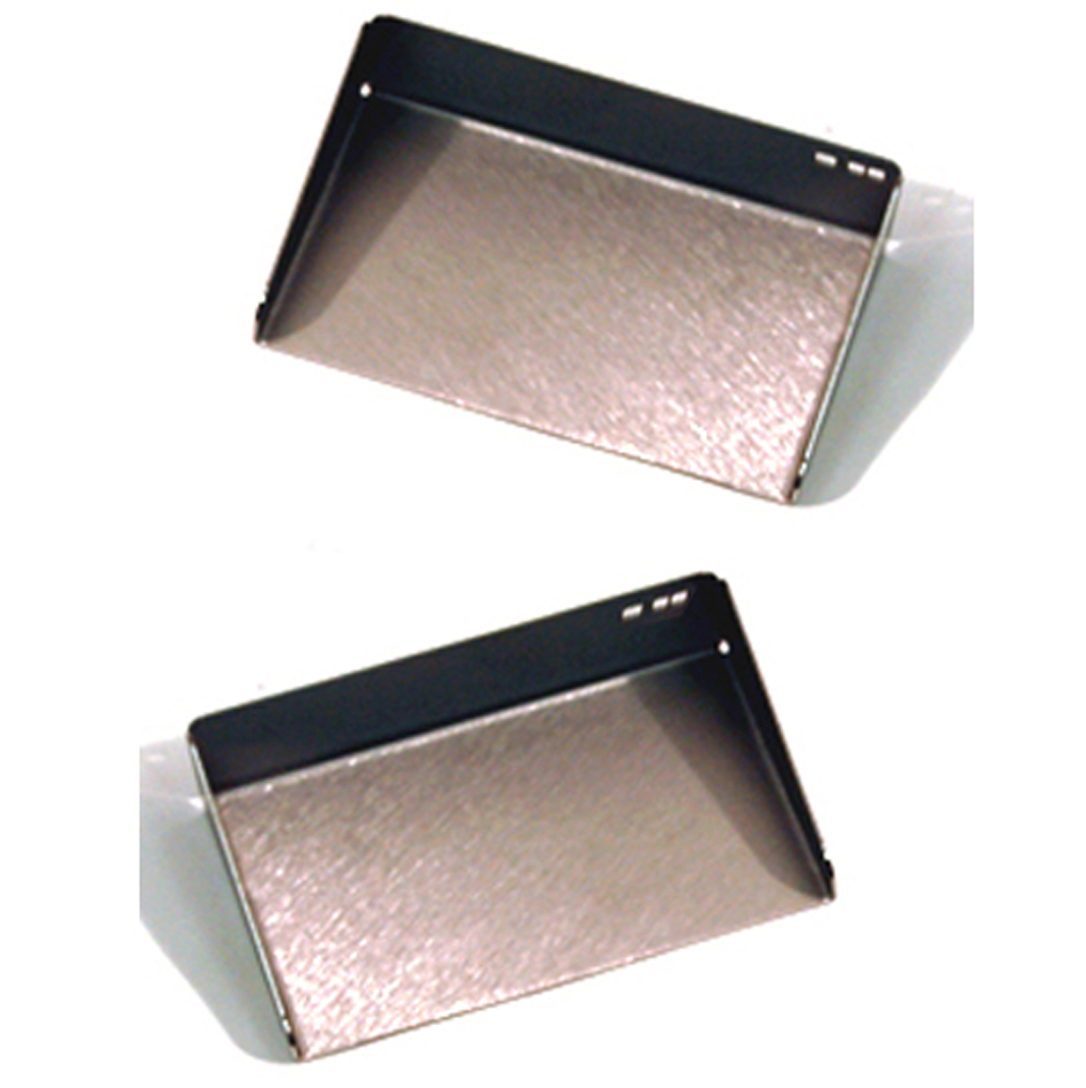 MEMO - Stainless Steel Pair of Office Sticky Note Holders