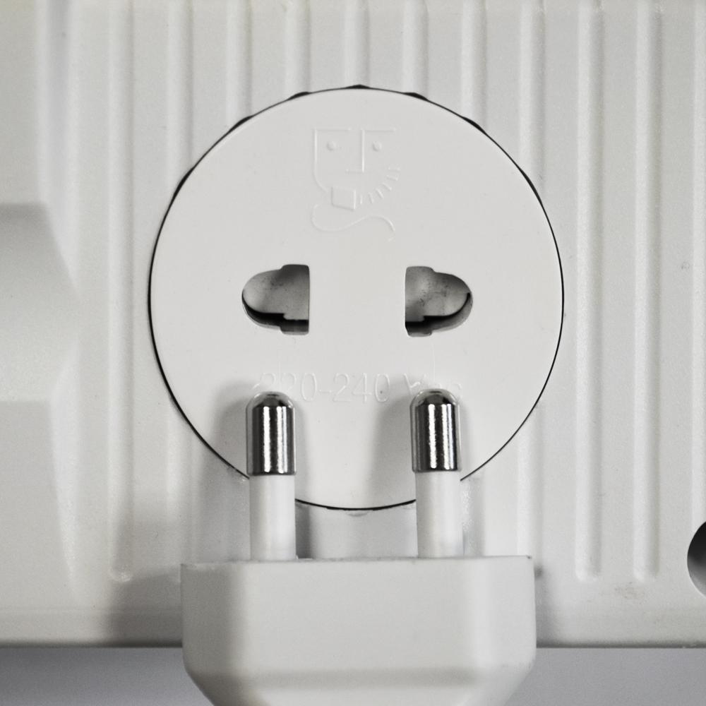 odyssey mirror bathroom cabinet shaver socket 2 lights white