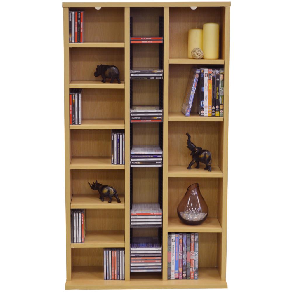 St laurence 355 cd 130 dvd blu ray media storage - Estanterias para cd y dvd ...