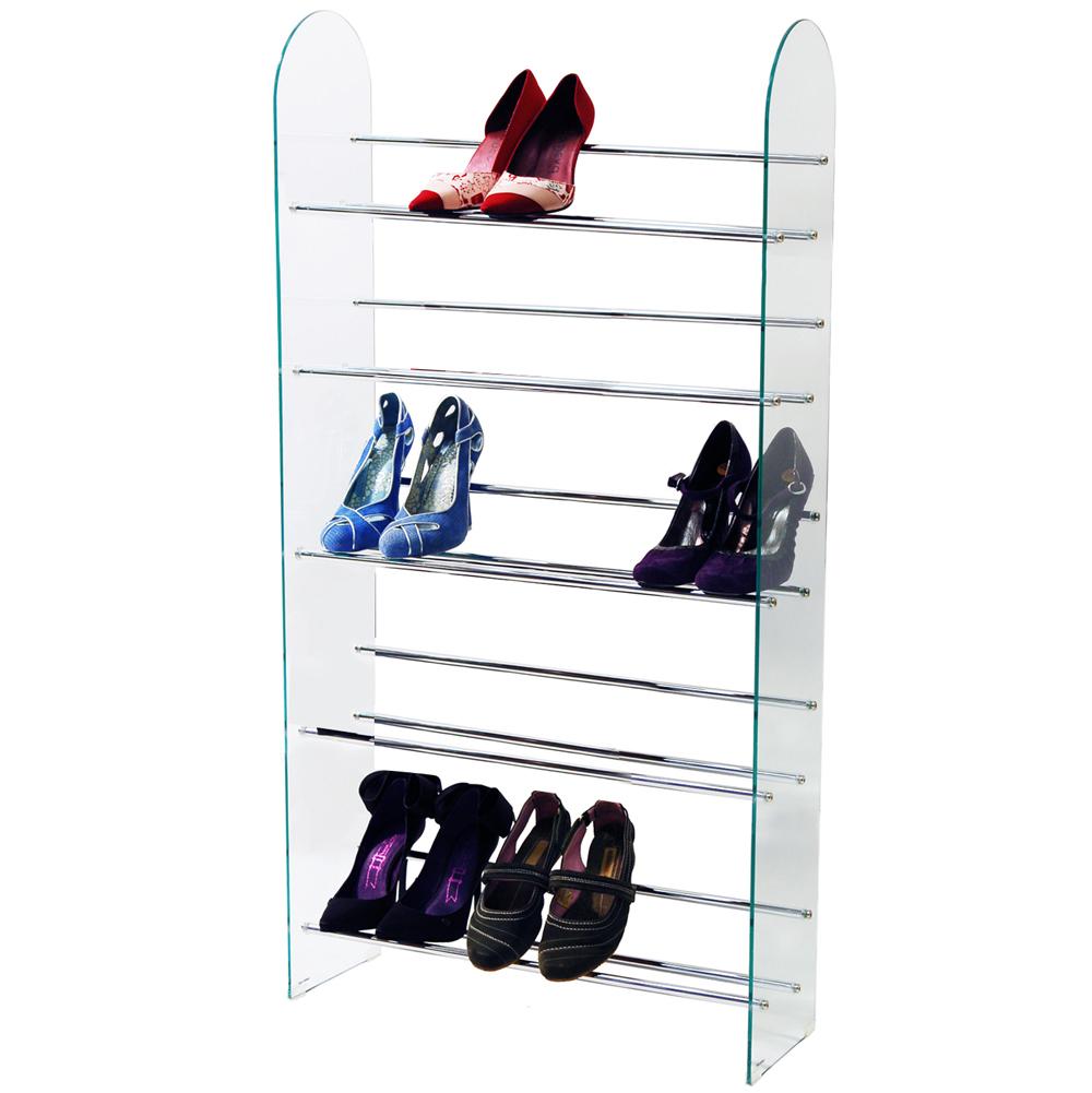 luxor 5 tier 285 cd 195 dvd media storage shelf rack. Black Bedroom Furniture Sets. Home Design Ideas