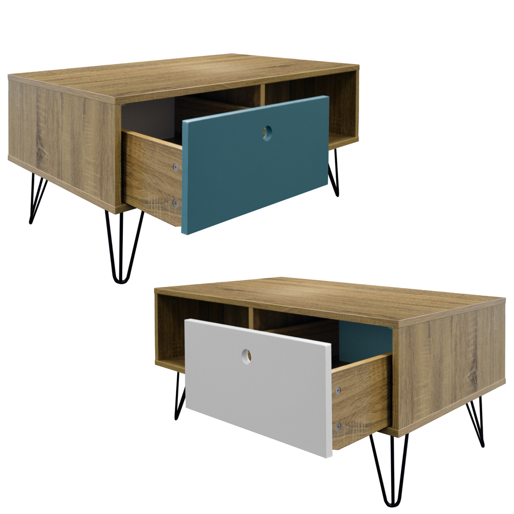 Coffee Table And Entertainment Unit Set: Low Coffee Table / Entertainment Storage Unit