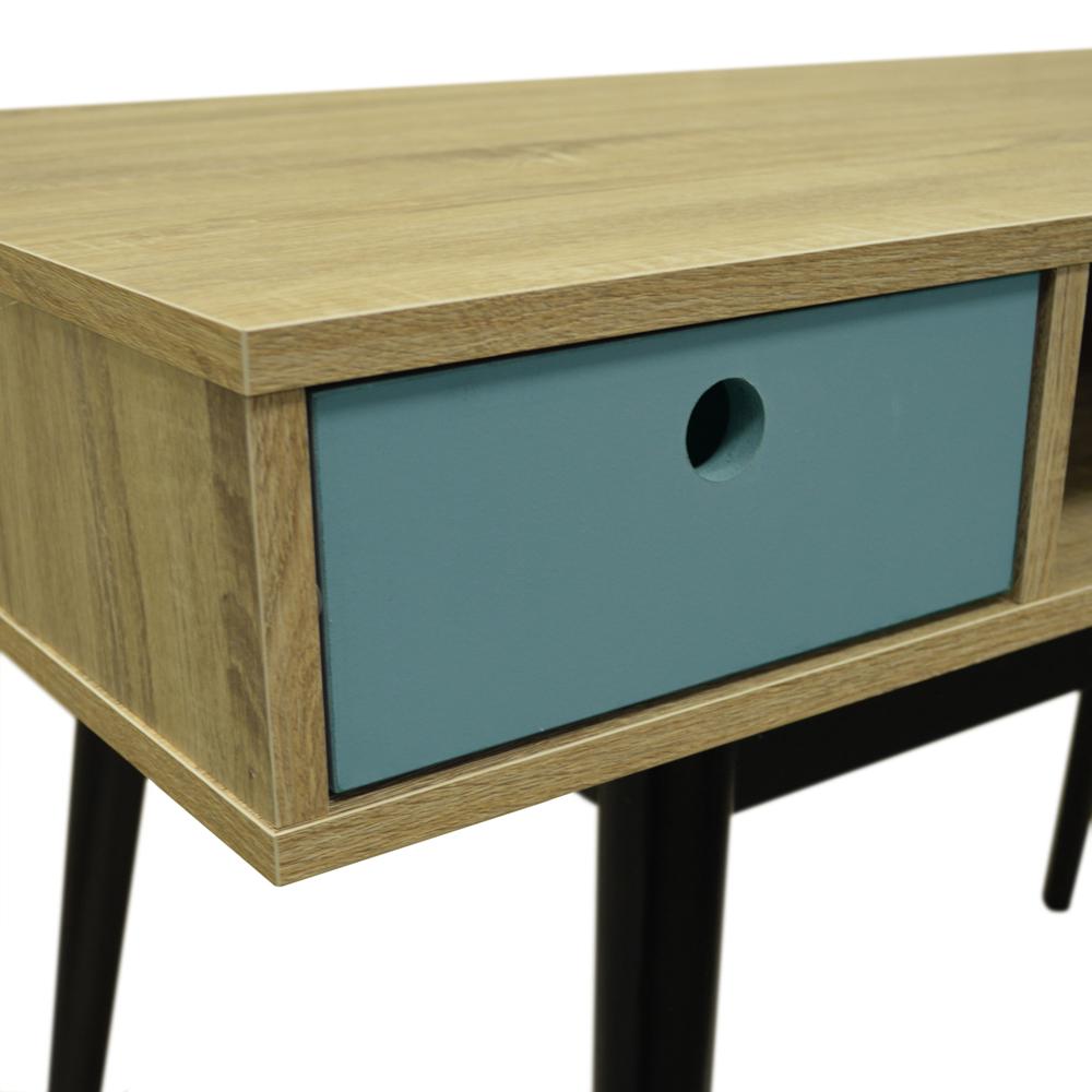 Corner Computer Desk And Hutch Black Oak Small Wood